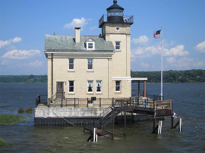 Roundout Lighthouse in Kingston NY
