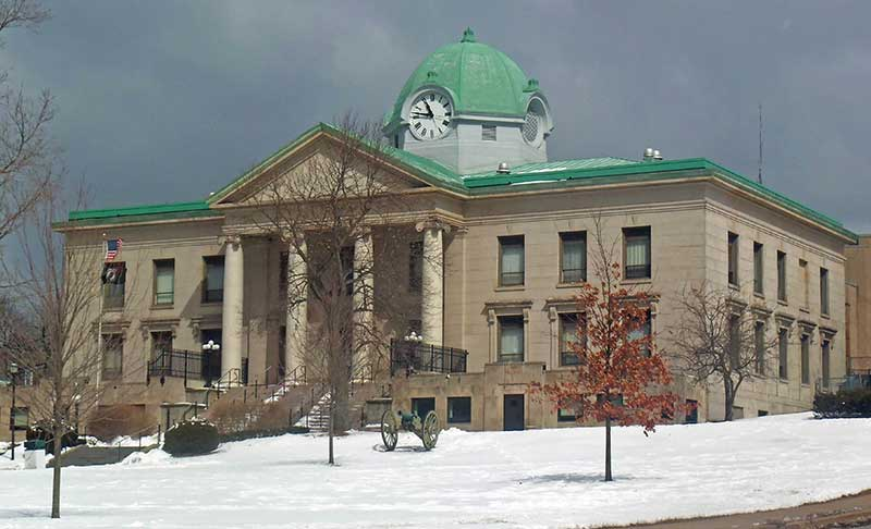 Sullivan County Courthouse in Monticello NY