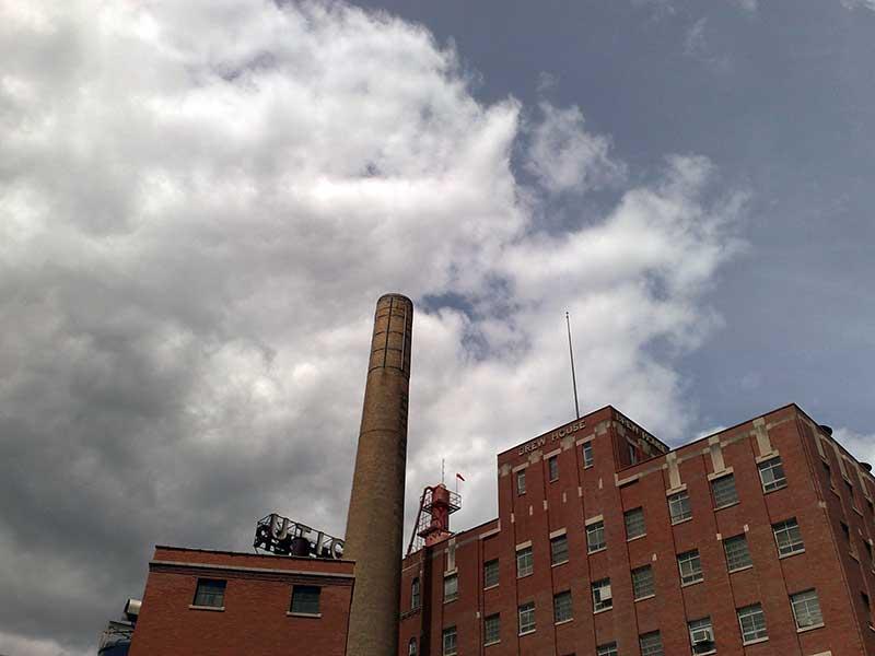 Saranac Brewery in Utica NY