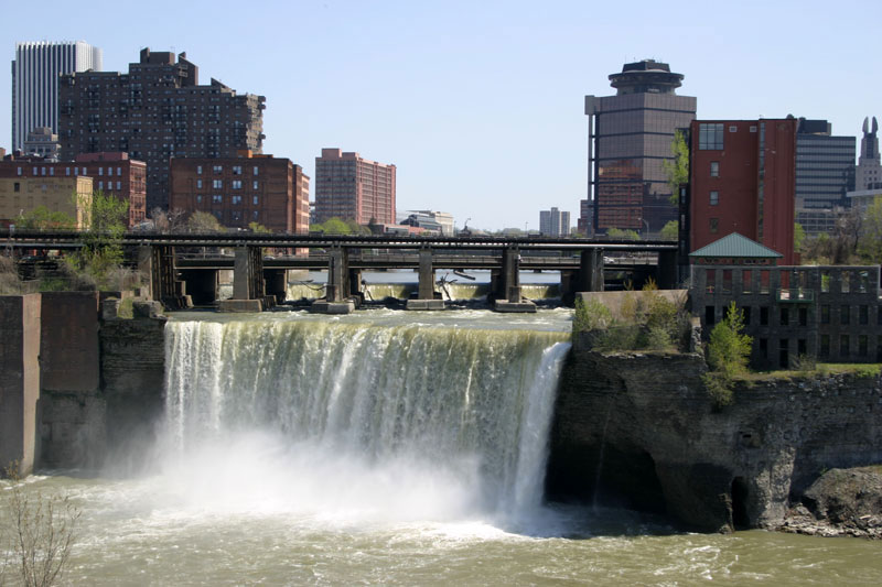 High Falls in downtown Rochester NY