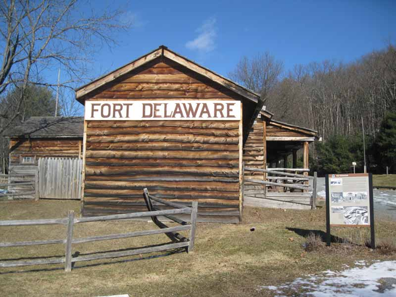 Exterior of Fort Delaware