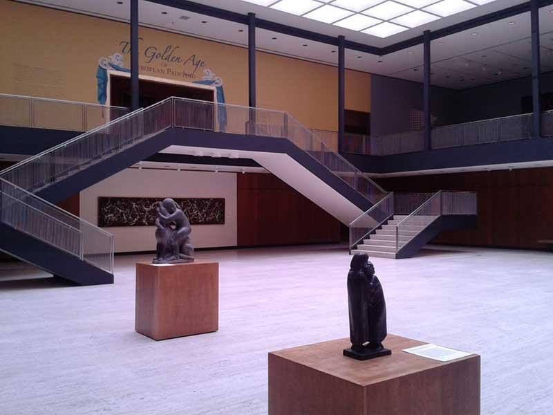 Inside the Munson Williams Proctor Art Institute Museum
