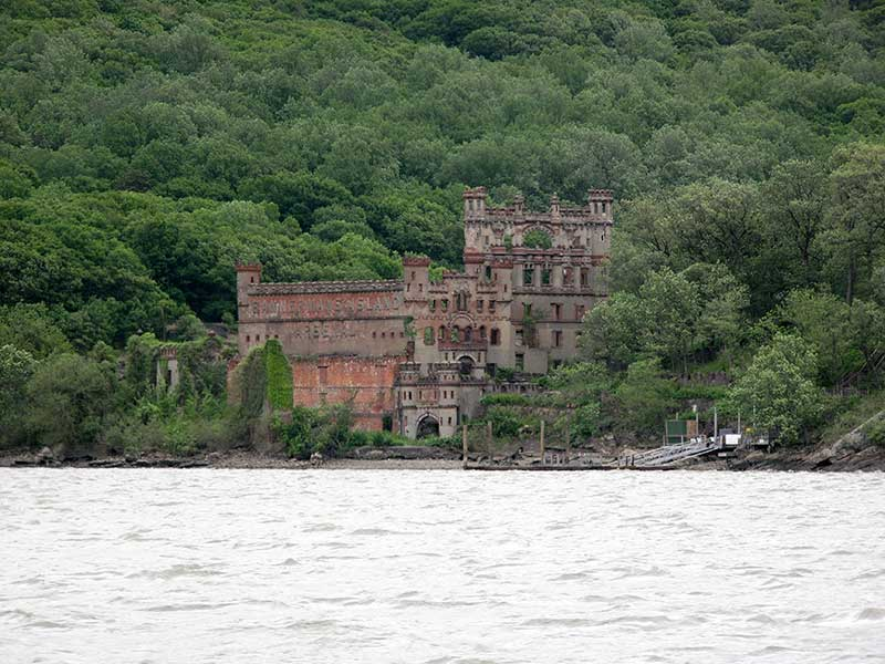 Bannerman's Castle in Cold Spring NY