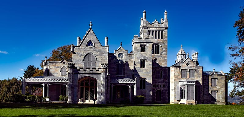 Lyndhurst Mansion in Tarrytown NY