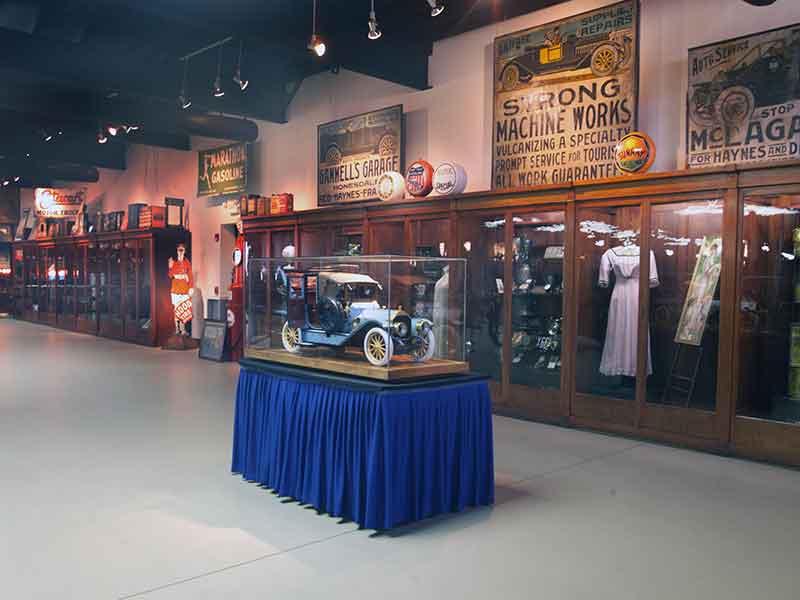 Interior of the Pierce-Arrow Museum in Buffalo NY