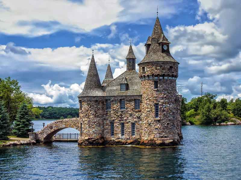 Boldt Castle on the St. Lawrence River