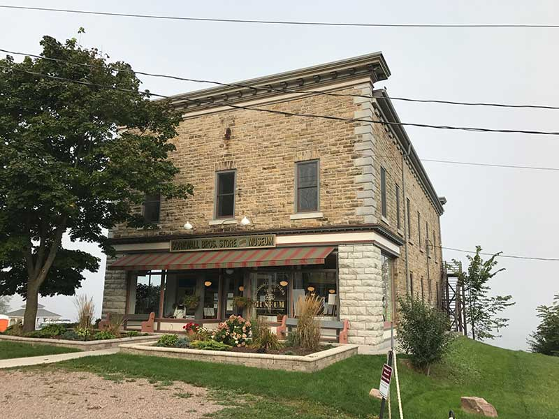 Exterior view of Cornwall Brother's General Store & Museum
