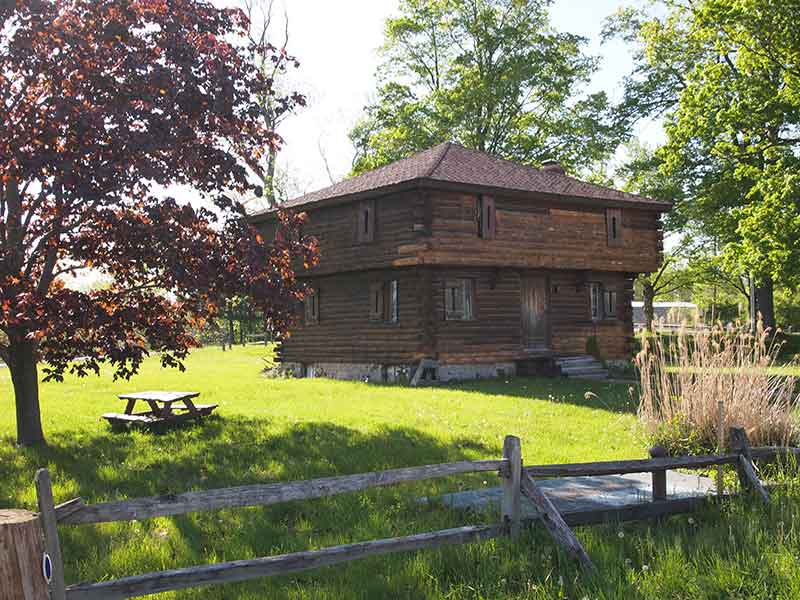 The block house at Fort Brewerton