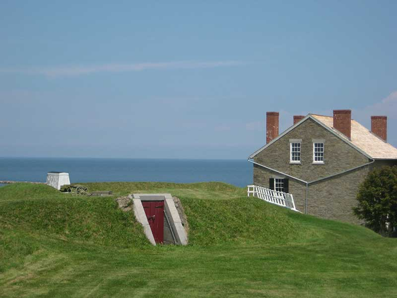 Fort Ontario in Oswego, NY