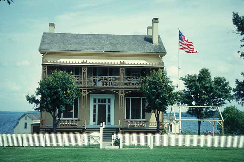 The Commandant's House at Sackets Harbor Battlefield