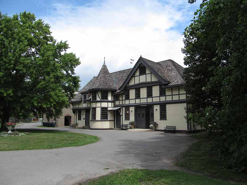 Mansion at Sonnenberg Gardens & Mansion Historic Park in Canandaigua NY