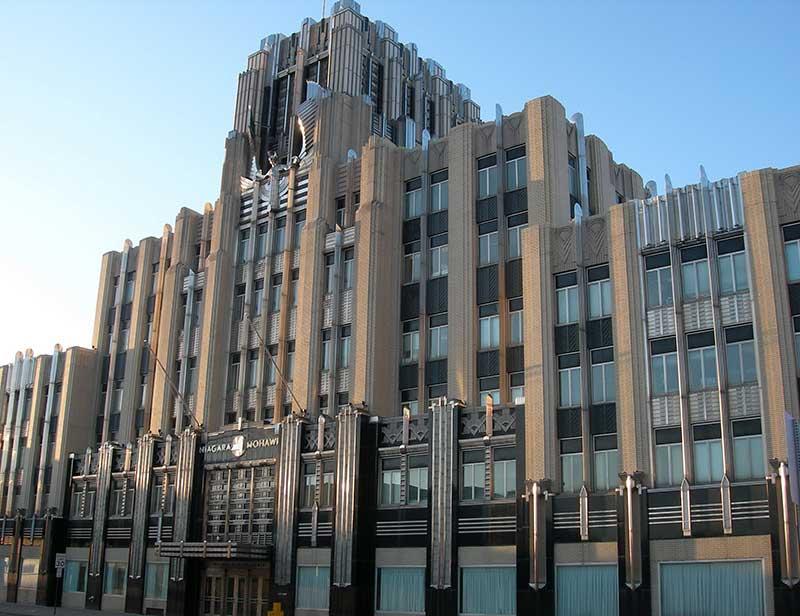 Niagara Mohawk Building in Syracuse NY