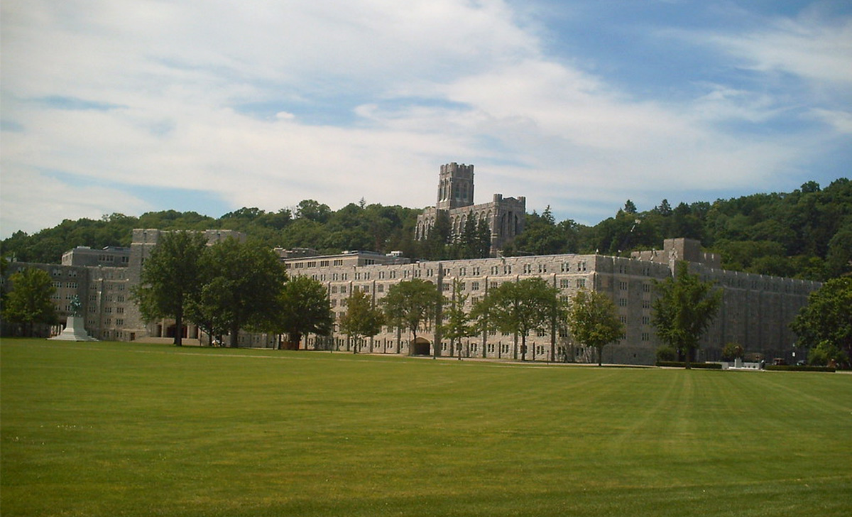 exterior of west point
