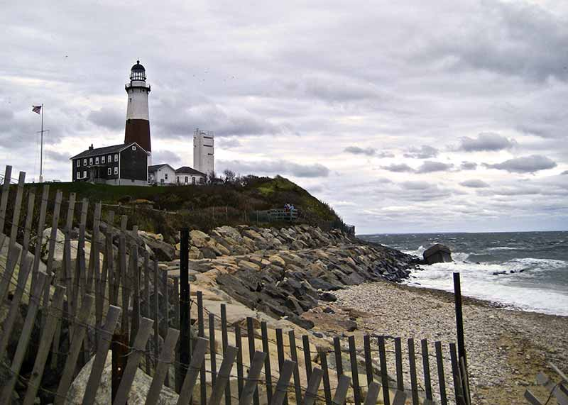 Lighthouse at Montauk Point on Long Island