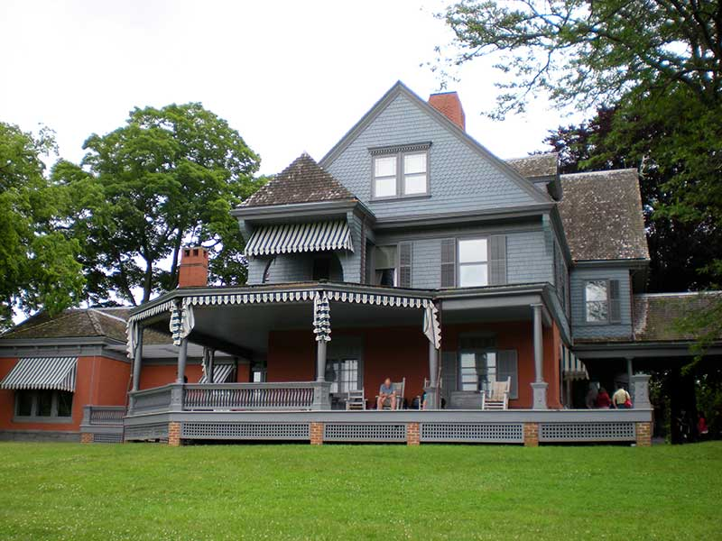Mansion at Sagamore Hill in Oyster Bay NY