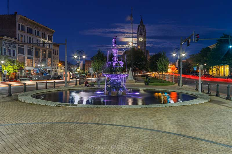 The Public Square in Watertown NY